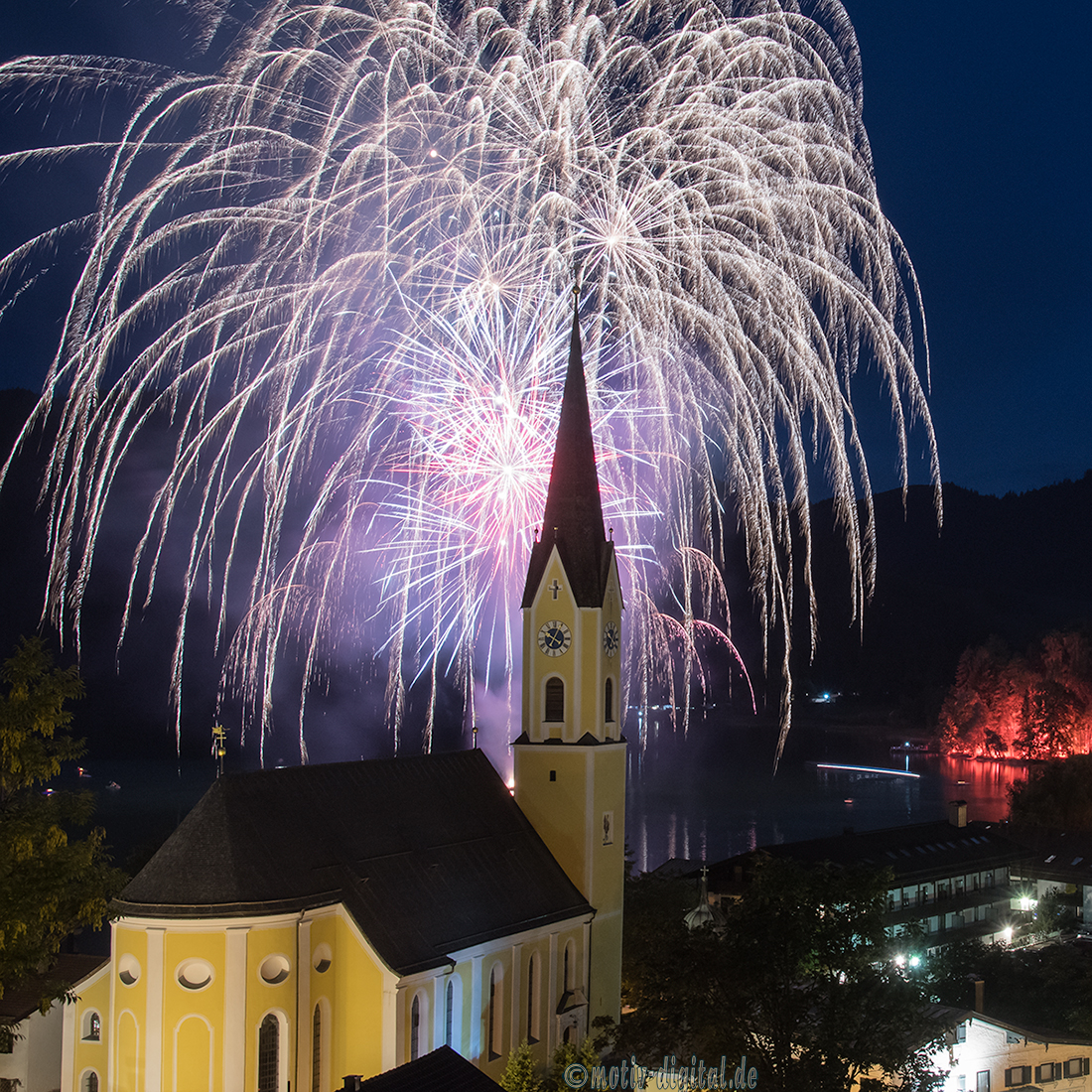 Feuerwerk Schliersee