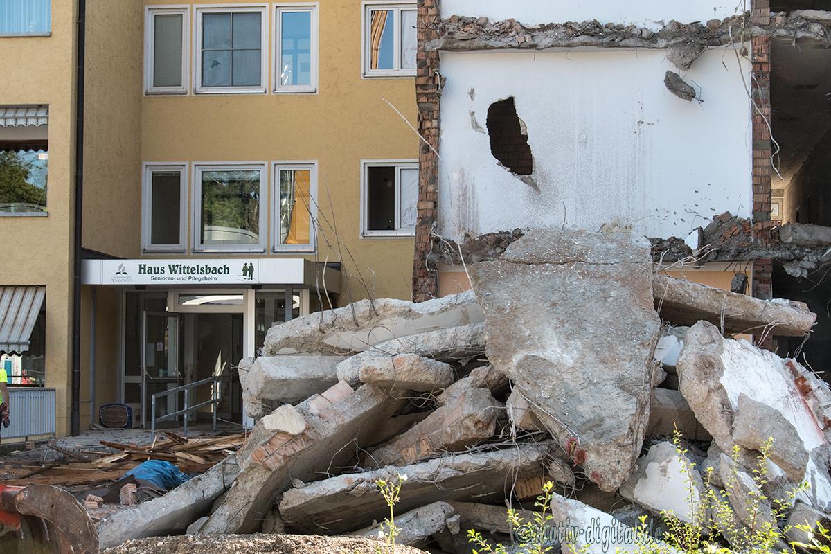 Abriss Seniorenheim